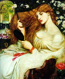 Rossetti | Lady Lilith, 1868 | Giclée Canvas Print
