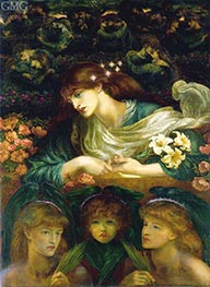 Rossetti | The Blessed Damozel | Giclée Canvas Print