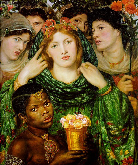 The Beloved (The Bride), c.1865/66 | Rossetti | Giclée Canvas Print