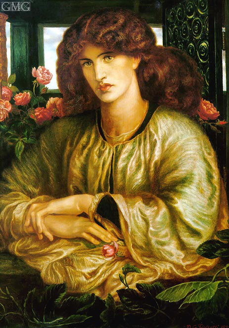 La Donna della Finestra (The Lady of the Window), 1879 | Rossetti | Giclée Canvas Print