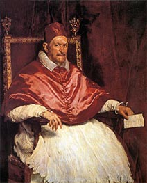 Velazquez | Pope Innocent X | Giclée Canvas Print