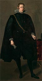 Velazquez | Philip IV, King of Spain | Giclée Canvas Print