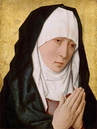 Dieric Bouts the Elder | Mater Dolorosa, undated | Giclée Canvas Print