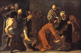 Dirck van Baburen | Christ Washing the Apostles Feet, 1616 | Giclée Canvas Print