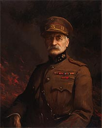 Edmund Charles Tarbell | General Georges Leman, Commander of the Fortified Town of Liege, c.1919/20 | Giclée Canvas Print