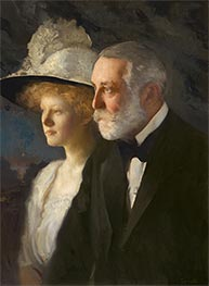 Edmund Charles Tarbell | Henry Clay and Helen Frick, c.1910 | Giclée Canvas Print