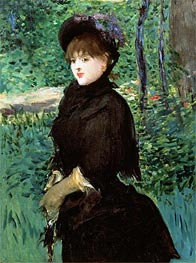 Manet | The Promenade | Giclée Canvas Print