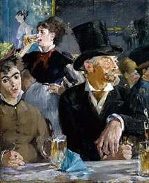 Manet | Cafe - Concert | Giclée Canvas Print