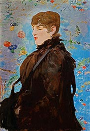 Manet | Autumn (Mery Laurent) | Giclée Canvas Print
