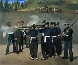 Manet | The Execution of the Emperor Maximilian | Giclée Canvas Print