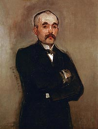 Manet | Portrait of Georges Clemenceau | Giclée Canvas Print