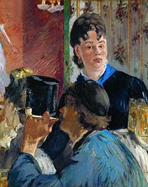 Manet | Beer Drinking (The Waitress) | Giclée Canvas Print