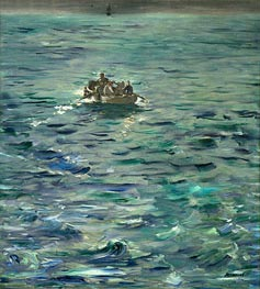Manet | The Escape of Henri de Rochefort 20 March 1874 | Giclée Canvas Print