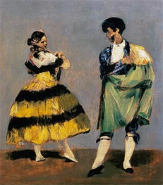 Manet | Spanish Dancers | Giclée Canvas Print