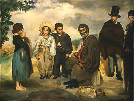 The Old Musician, 1862 | Manet | Giclée Canvas Print