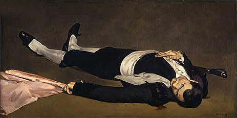 The Dead Toreador, c.1864 | Manet | Giclée Canvas Print
