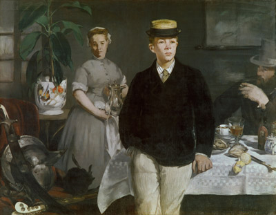 The Luncheon in the Studio, 1868   Manet   Painting Reproduction