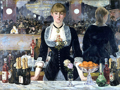 A Bar at the Folies-Bergere, c.1881/82 | Manet | Painting Reproduction