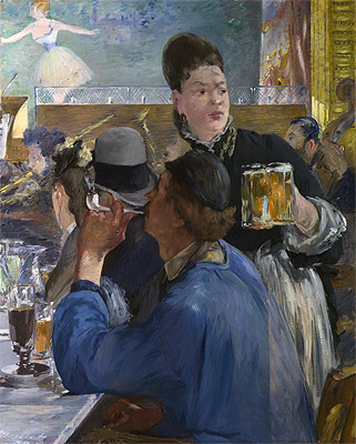 Corner in a Cafe - Concert, c.1878/80 | Manet | Painting Reproduction