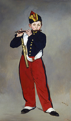 The Fifer, 1866 | Manet | Painting Reproduction
