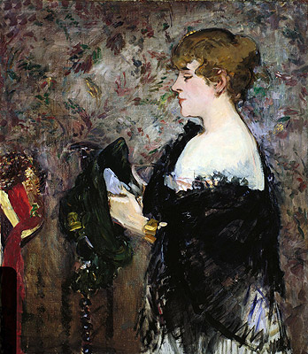 At The Milliner's, 1881 | Manet | Giclée Canvas Print