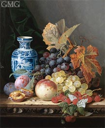 Edward Ladell | Still Life with a Chinese Vase | Giclée Canvas Print