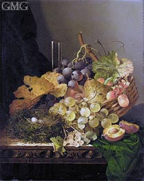 Edward Ladell | Still Life with a Bird's Nest | Giclée Canvas Print