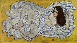Schiele | Reclining Woman | Giclée Canvas Print