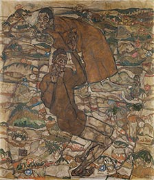 Schiele | Levitation (The Blind II) | Giclée Canvas Print