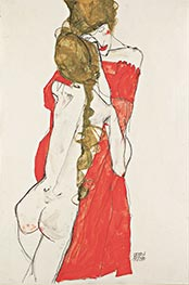 Schiele | Mother and Daughter | Giclée Paper Print