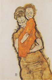 Schiele | Mother and Child | Giclée Paper Print