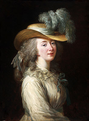 Portrait of Madame Du Barry, 1781 | Elisabeth-Louise Vigee Le Brun | Giclée Canvas Print