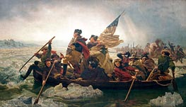 Leutze | Washington Crossing the Delaware, 1851 | Giclée Canvas Print