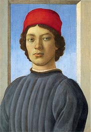 Filippino Lippi | Portrait of a Youth, c.1480 | Giclée Canvas Print
