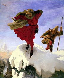 Ford Madox Brown | Manfred on the Jungfrau, c.1840/61 | Giclée Canvas Print
