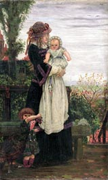 Ford Madox Brown | Out of Town, 1858 | Giclée Canvas Print