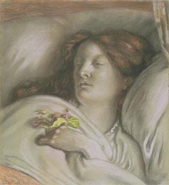Ford Madox Brown | Convalescent (Emma) | Giclée Canvas Print