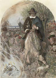 Ford Madox Brown | Title Cromwell on his Farm at St Ives, c.1853/74 | Giclée Paper Print