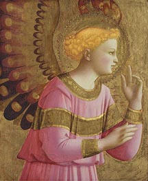 Fra Angelico | Annunciatory Angel, c.1450/55  | Giclée Canvas Print