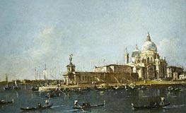 Francesco Guardi | View of Grand Canal with the Dogana, c.1780 | Giclée Canvas Print