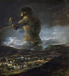 Goya | The Colossus, undated | Giclée Canvas Print