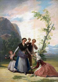 Goya | The Flower Girls or Spring, 1786 | Giclée Canvas Print
