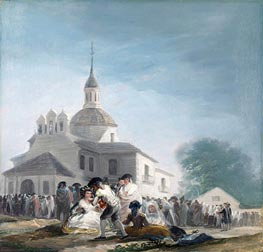 Goya | The Hermitage of Saint Isidore on the Saint's Feast Day | Giclée Canvas Print