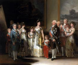 Goya | The Family of Carlos IV | Giclée Canvas Print