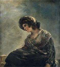Goya | The Milkmaid of Bordeaux | Giclée Canvas Print