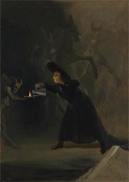 Goya | A Scene from El Hechizado por Fuerza (The Forcibly Bewitched), 1798 | Giclée Canvas Print