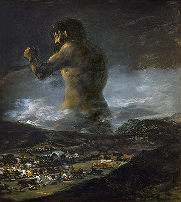The Colossus, undated | Goya | Giclée Canvas Print