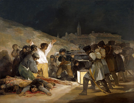 The 3rd of May 1808 in Madrid, 1814 | Goya | Giclée Canvas Print