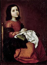 Zurbaran | The Childhood of the Virgin | Giclée Canvas Print
