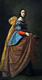 Zurbaran | Saint Elisabeth of Portugal | Giclée Canvas Print
